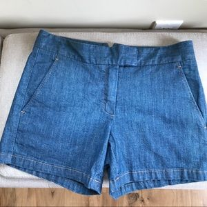 Theory Classic Denim Shorts